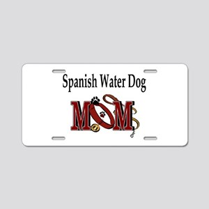 Spanish Water Dog Aluminum License Plate