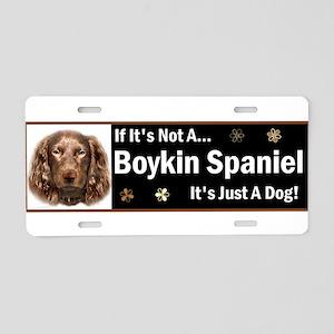 Boykin Spaniel Aluminum License Plate