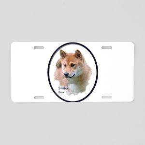 Shiba Inu Art Aluminum License Plate