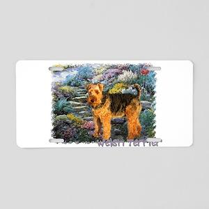 Welsh Terrier Lovers Aluminum License Plate