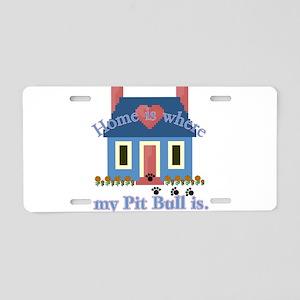 APBT Home Is Aluminum License Plate