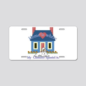 Clumber Spaniel Aluminum License Plate
