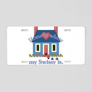Greater Swiss Mtn Dog Aluminum License Plate