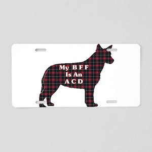 Australian Cattle Dog Aluminum License Plate
