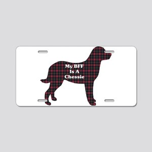 BFF Chessie Aluminum License Plate