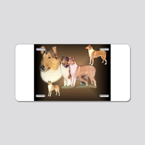 Rough Collie / Smooth Collie Aluminum License Plat