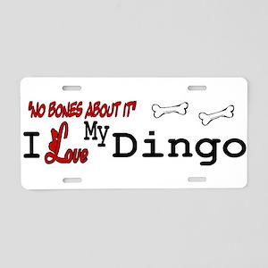 NB_Dingo Aluminum License Plate