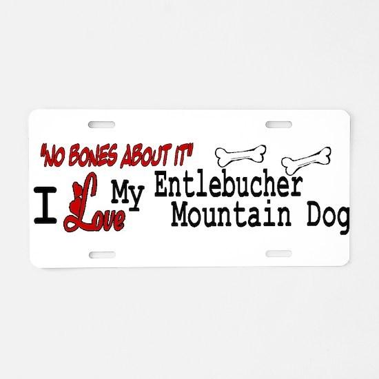 NB_Entlebucher Mountain Dog Aluminum License Plate