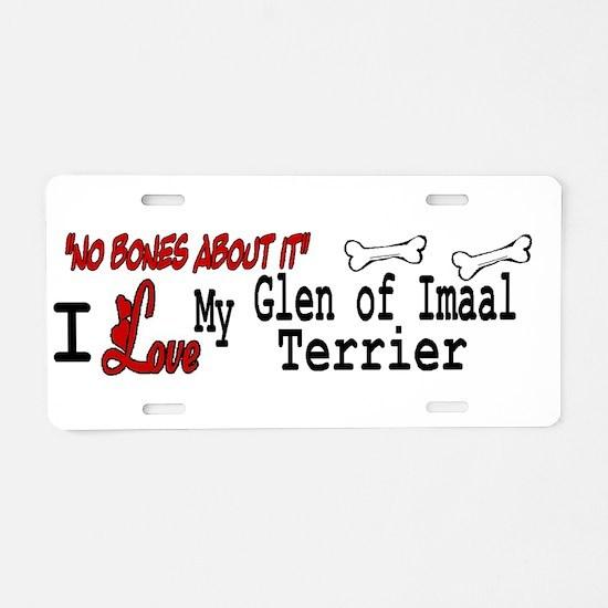 NB_Glen of Imaal Terrier Aluminum License Plate