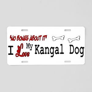 NB_Kangal Dog Aluminum License Plate
