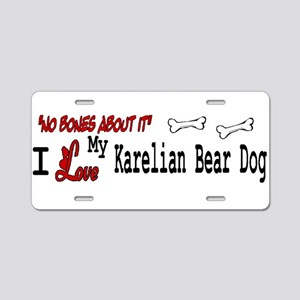 NB_Karelian Bear Dog Aluminum License Plate