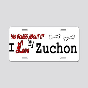 NB_Zuchon Aluminum License Plate