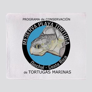 Marine Turtle Program Throw Blanket