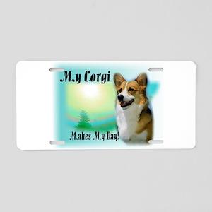 Welsh Corgi Gifts Aluminum License Plate