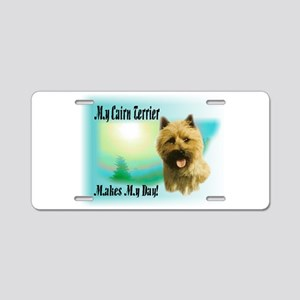 Cairn Terrier Gifts Aluminum License Plate