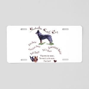 Austalian Cattle Dog Aluminum License Plate