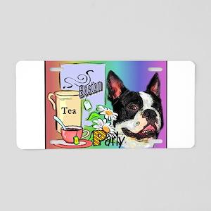 Boston Tea Party Aluminum License Plate