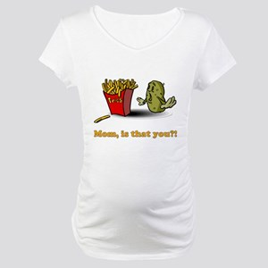 French Fries Maternity T-Shirt