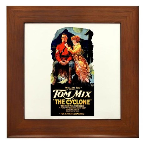 The Cyclone Framed Tile