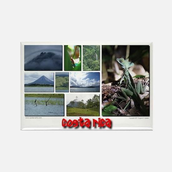 Costa Rica (3) Rectangle Magnet