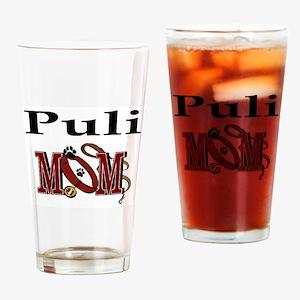 Puli Dog Mom Pint Glass