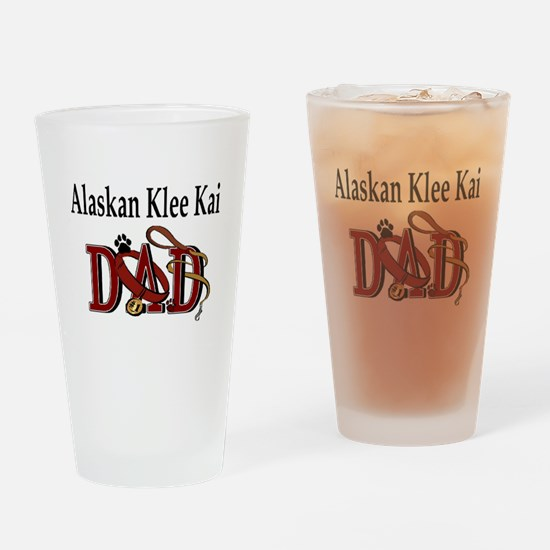 Alaskan Klee Kai Pint Glass