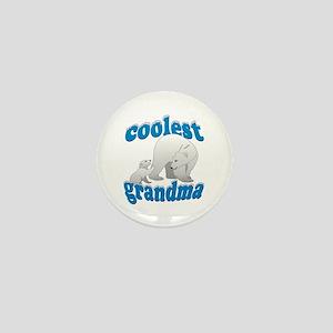 Coolest Grandma Mini Button