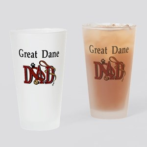 Great Dane Dad Pint Glass