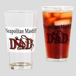 Neapolitan Mastiff Dad Pint Glass