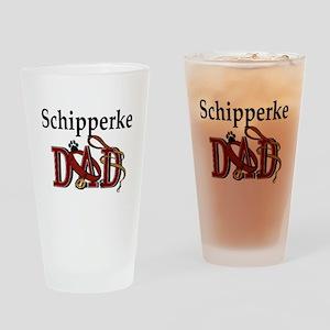 Schipperke Dad Pint Glass