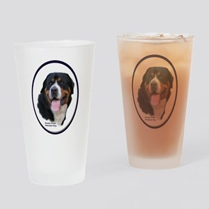 Greater Swiss Mtn Dog Drinking Glass