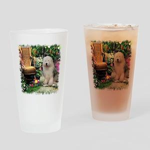 Old English Sheepdog Pint Glass