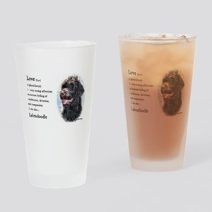 Labradoodle Gifts Pint Glass