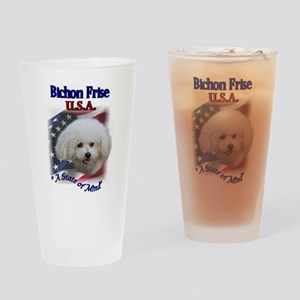 Bichon Frise Gifts Pint Glass