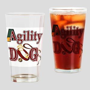 Agility Dog Pint Glass