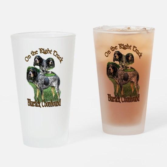Bluetick Coonhound Pint Glass