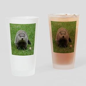 Groundhog (Woodchuck) Pint Glass
