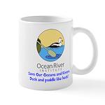 Ocean River Duck and Paddle Mug
