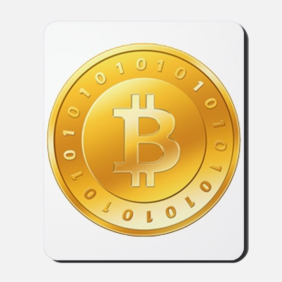 Bitcoins-1 Mousepad