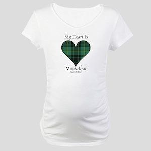Heart - MacArthur Maternity T-Shirt