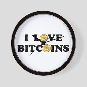 Bitcoins-2 Wall Clock