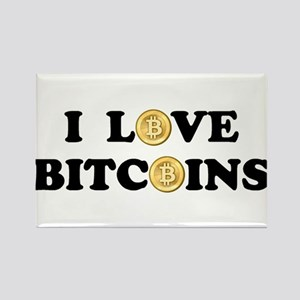 Bitcoins-2 Rectangle Magnet