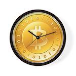Bitcoins-3 Wall Clock