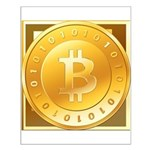 Bitcoins-3 Small Poster