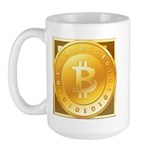 Bitcoins-3 Large Mug
