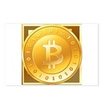Bitcoins-3 Postcards (Package of 8)
