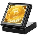 Bitcoins-3 Keepsake Box