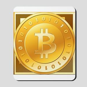 Bitcoins-3 Mousepad