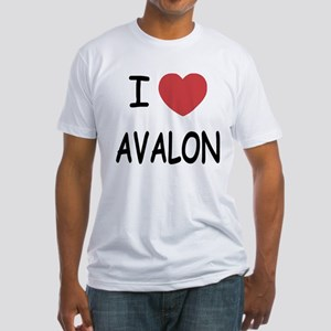 I heart avalon Fitted T-Shirt