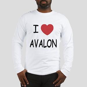 I heart avalon Long Sleeve T-Shirt